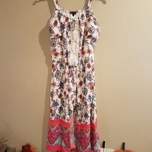 My Michelle floral boho style high low dress